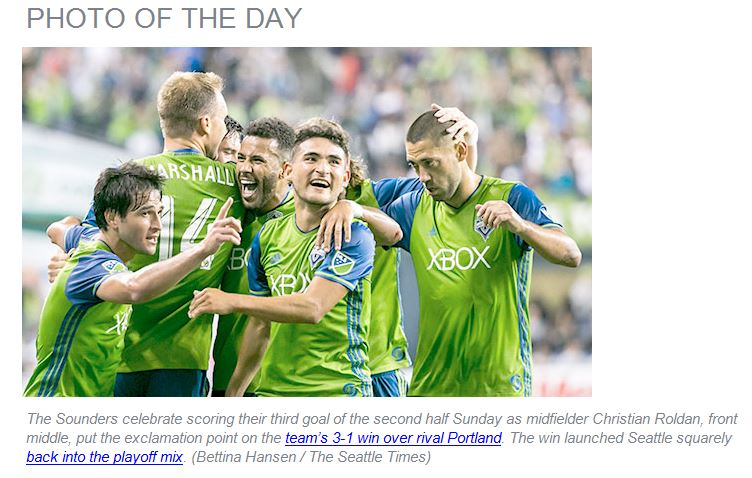 Seattle Times Chose this AWESOME Picture as the Photo of theDay